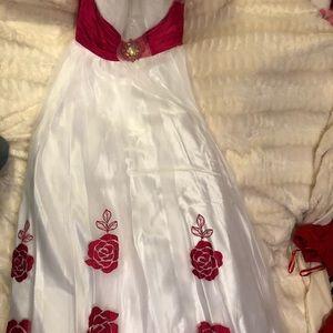Dresses & Skirts - Red roses prom/ wedding/ sweet 16 dress